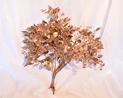 Rose Gold Seeded Cup Eucalyptus